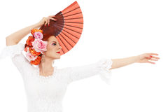 Flamenco dancer Royalty Free Stock Photos