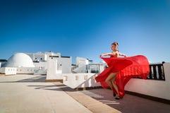 Flamenco dancer Stock Photography