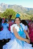 Flamenco dancer, Marbella, Spain. Stock Image
