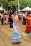 Flamenco dancer, Marbella. Royalty Free Stock Image
