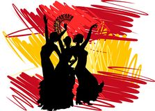 Flamenco dancer Stock Image