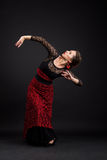 Flamenco dancer Stock Photography