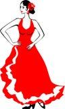 Flamenco dancer Royalty Free Stock Images