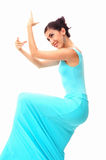 Flamenco dancer woman Royalty Free Stock Image