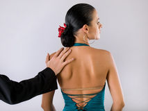 Flamenco dancers Royalty Free Stock Photography