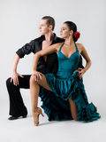 Flamenco dancers stock photos