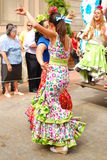 Flamenco dancers Stock Image