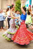 Flamenco dancers Royalty Free Stock Photos