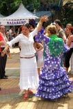 Flamenco dancers, Marbella. Royalty Free Stock Image