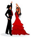 Flamenco dancers Stock Image