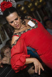 Flamenco dancing Royalty Free Stock Image