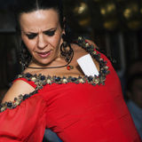Flamenco dancing Royalty Free Stock Photos