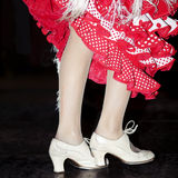 Flamenco dancing Royalty Free Stock Photos