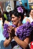 Flamenco dancing Royalty Free Stock Images