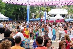 Flamenco dancing, Marbella. Royalty Free Stock Photos