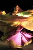 Flamenco danger. The flamenco show in tablao flamenco albayzin Granada, Andalusia, Spain Royalty Free Stock Photography