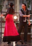 Flamenco de Alba Lucera en funcionamiento de la danza Fotos de archivo libres de regalías