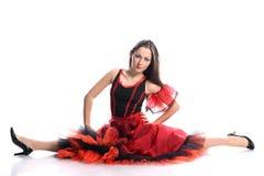 flamenco de danseur Images libres de droits