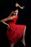 flamenco de danseur Photos stock