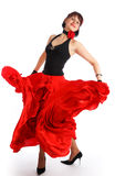 flamenco de danseur Images libres de droits