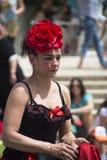 Flamenco dencer clouseup royalty-vrije stock afbeelding