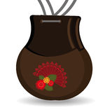 Flamenco design, vector illustration. Flamenco design over white background, vector illustration vector illustration