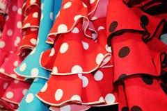 Flamenco dress spain Stock Image