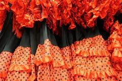 Flamenco dress spain Stock Photos
