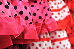 Flamenco dresses Stock Image