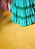 Flamenco dresses, Seville Fair, Andalusia, Spain Royalty Free Stock Images