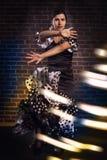 Flamenco dziewczyna Fotografia Royalty Free