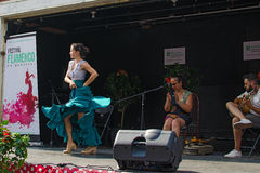 Flamenco Festival in Montreal Royalty Free Stock Photos