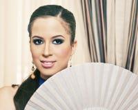 Flamenco girl Stock Photo