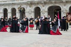 Flamenco group Stock Photos