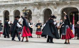 Flamenco grupa Obrazy Royalty Free