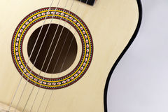 Flamenco guitar Stock Photography