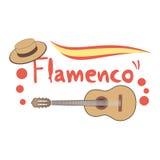 Flamenco guitar Stock Images