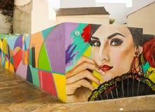 Flamenco kobiety tancerz Obraz Stock