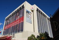 Flamenco Las Vegas, edificio, señal, zona metropolitana, d3ia fotografía de archivo