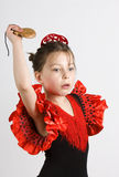 Flamenco-Mädchen Lizenzfreie Stockfotos
