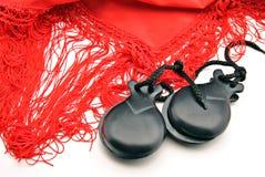 Flamenco ornaments Royalty Free Stock Photography