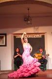Flamenco piosenkarzów i tancerzy występ Obrazy Stock