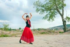 Flamenco pose Stock Photo