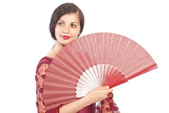 Flamenco pose Stock Image
