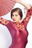 Flamenco pose Stock Photos