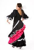 Flamenco pose Royalty Free Stock Photo