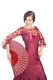 flamenco poza Obrazy Royalty Free