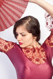 flamenco poza Zdjęcie Royalty Free