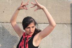 flamenco poza Obraz Royalty Free