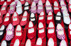 Flamenco shoes Royalty Free Stock Photos